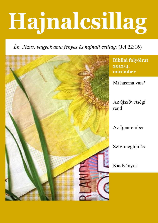 12. szám - 2012/4. november