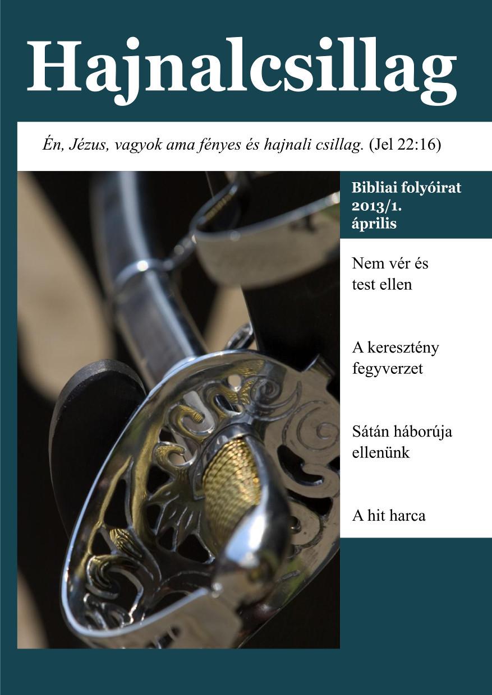 13. szám - 2013/1. április